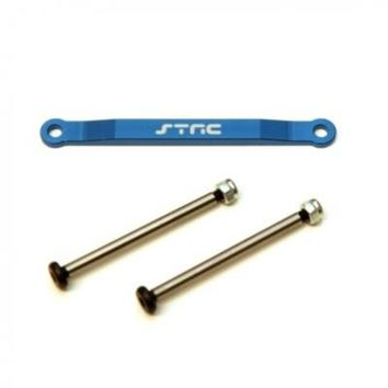 Front Hinge-Pin Brace Kit-Blue w/lock-nut style hinge-pins