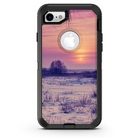 Calm Snowy Sunset - iPhone 7 or 8 OtterBox Case & Skin Kits