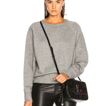 rag & bone/JEAN Crew Sweatshirt in Heather Grey | FWRD