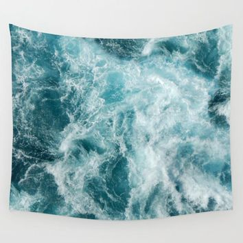 Ocean Water Tapestry Polyester Wall Art