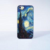 Stary Night  Plastic Case Cover for Apple iPhone 5s 5 6 Plus 6 4 4s  5c