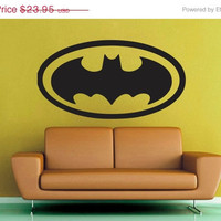 ON SALE Batman Signal - Wall Vinyl - Large