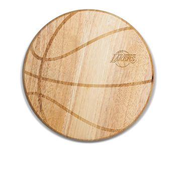 Los Angeles Lakers - 'Free Throw' Basketball Cutting Board & Serving Tray by Picnic Time