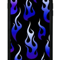 Blue Flames iPhone 6+/7+/8+ Plus Case