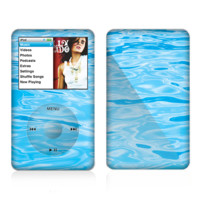 The Crystal Clear Water Skin For The Apple iPod Classic