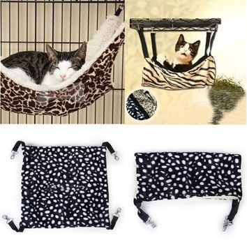 Pet Hammock Bed Faux lamb Wool