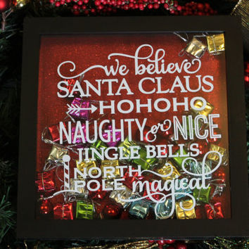 Christmas Sign, Gift for Mom, Christmas, Decorative Sign, Christmas Santa Claus, Christmas Gift, Santa Claus, Home Decor, Merry Christmas