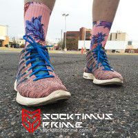 Pineapple - Custom Sublimated Socks - Socktimus Prime