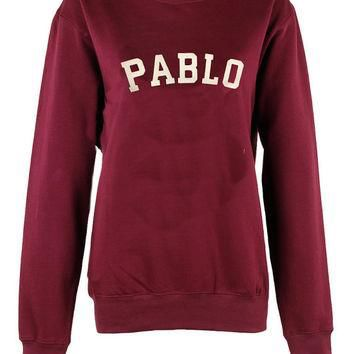 Pablo crew neck sweatshirt unisex womens mens ladies print tshirt i feel like pablo Y