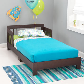 KidKraft Houston Toddler Bed in Espresso