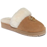 MICHAEL Michael Kors Winter Fur Slippers