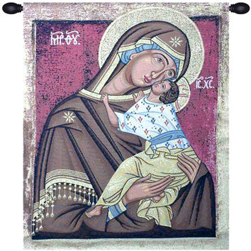 Icon Madonna Tapestry Wall Art Hanging