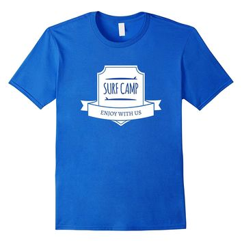 Enjoy Surf Camp With Us - Graphic Surfing T-shirt