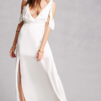 Indikah Belted Maxi Dress