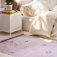 One-Of-A-Kind 3x5 Moroccan Woven Rug - Urban Outfitters