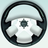 Steering Wheel, Black Inserts - Uflex