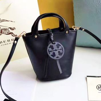 Tory burch sells vintage single-shoulder bags fashionable women's solid colors