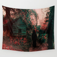 Path Wall Tapestry by Viviana Gonzalez