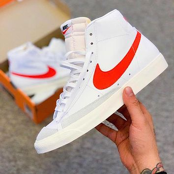 Nike Blazer Mid fashion hot seller Blazer high band all-casual sports shoes #2
