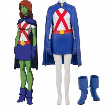 Young Justice Miss Martian cosplay