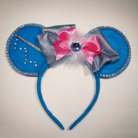 Custom Fairy Godmother Minnie Mouse Ears