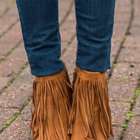 Diva Dreams Booties, Rust
