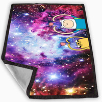 Adventure Time Nebula Blanket for Kids Blanket, Fleece Blanket Cute and Awesome Blanket for your bedding, Blanket fleece **
