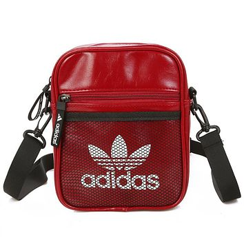 Adidas Women Men Fashion Leather Satchel Shoulder Bag Handbag Crossbody
