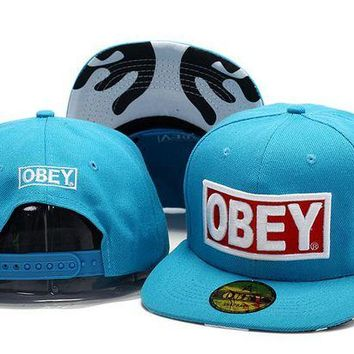DCCKUN7 Obey Hats Cap Snapback Hat - Ready Stock