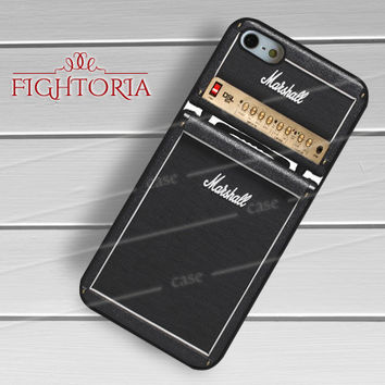 Marshall amps - z321z for iPhone 6S case, iPhone 5s case, iPhone 6 case, iPhone 4S, Samsung S6 Edge