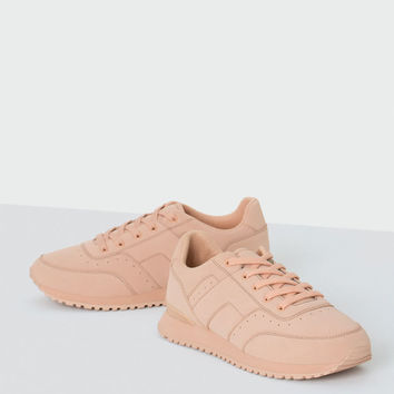 Fashion sneakers - Trainers - Shoes - Woman - PULL&BEAR United Kingdom