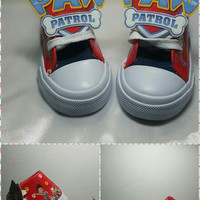 Limited Edition PAW PATROL Red Inspired Shoe (CONVERSE)