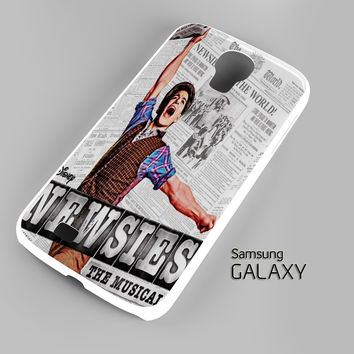 Newsies Broadway Musical A0705 Samsung Galaxy S3 S4 S5 Note 3 Cases - Galaxy