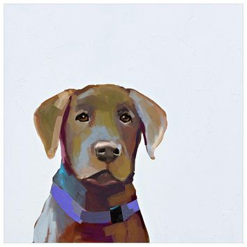 Best Friend - Brown Lab Wall Art