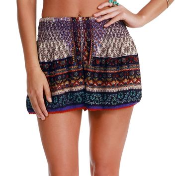 Purple Verano Shorts