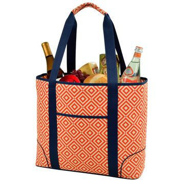 Extra Large Insulated Cooler Tote | Orange