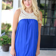 Get Together Dress - Blue