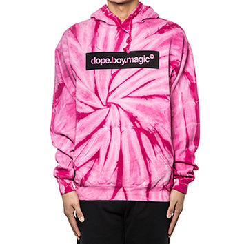 Dope Boy Magic | Pink Tie-Dye Hoodie Pink