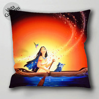 Walt DisneyPocahontas walt disney pillow case, cushion cover ( 1 or 2 Side Print With Size 16, 18, 20, 26, 30, 36 inch )