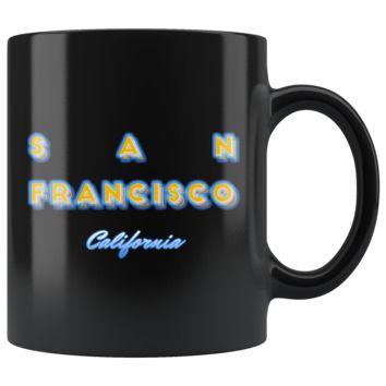San Francisco California Hometown Tourist Gift Tee Mug