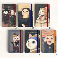 JapanLA - Choo Choo Cat Art Notebook