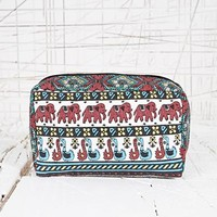 Make Up Bag in Elephant Print at Urban Outfitters
