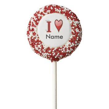 Customizeable 3D Valentine's Day Dipped Oreo Pops