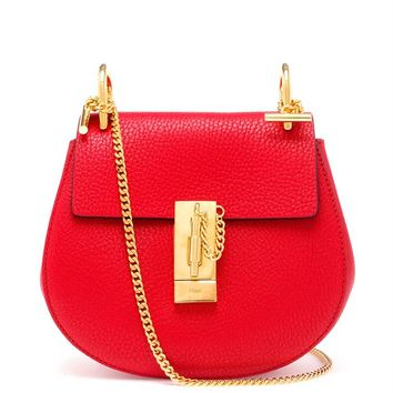 Grained Leather Drew Bag - CHLOÉ