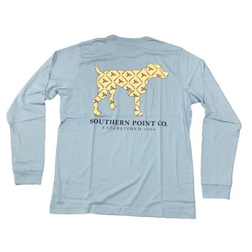 Southern Point, Signature Long Sleeve Tee, SLT-341