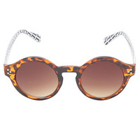 With Love From CA Tortoise Round Sunglasses at PacSun.com