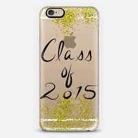 Class of 2015 (limited edition) transparent iPhone 6 case by Lisa Argyropoulos | Casetify
