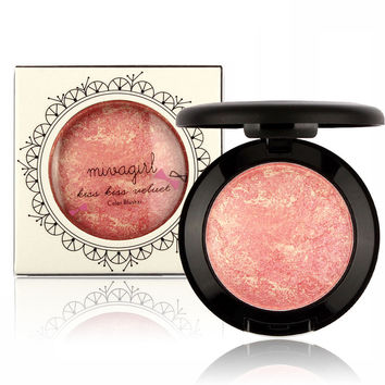 Fashionable New Style  Pink Red Blusher [9005129540]