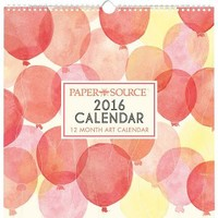 2016 Paper Source Art Grid Calendar