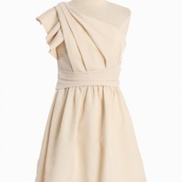 moonlight one shoulder dress by MM Couture at ShopRuche.com